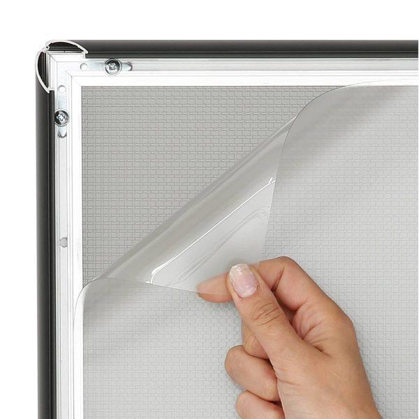 Anti-reflex clear overlay lens1