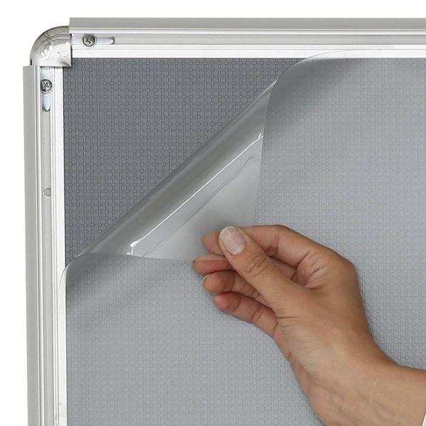 Anti-reflex clear overlay lens2