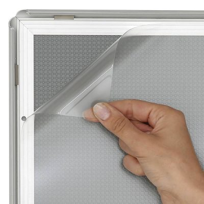 Anti-reflex clear overlay lens3