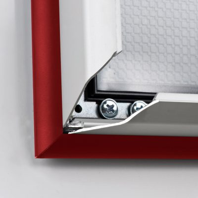 double-color-snap-poster-frame-1-58-inch-red-silver-color-mitred-profile1