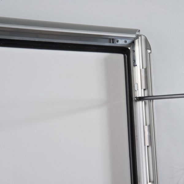 lockable-weatherproof-snap-poster-frame-1-38-inch-silver-mitred-profile-6