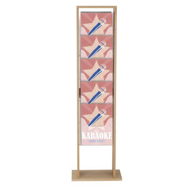 10xa4-wood-magazine-rack-natural-standing (2)