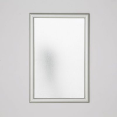 11x17-fire-resistant-snap-poster-frame-1-inch-silver-mitered-corner4