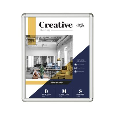 16x20-snap-poster-frame-1-inch-silver-profile-round-corner (2)
