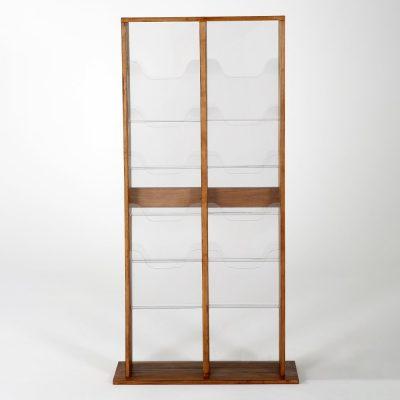 20xa4-wood-magazine-rack-dark-standing (5)