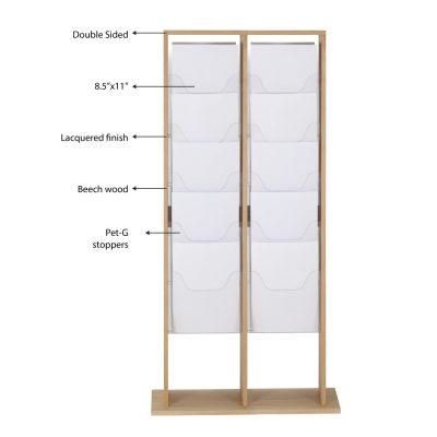 20xa4-wood-magazine-rack-natural-standing (3)