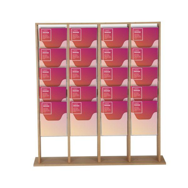 40xa4-wood-magazine-rack-natural-standing (2)