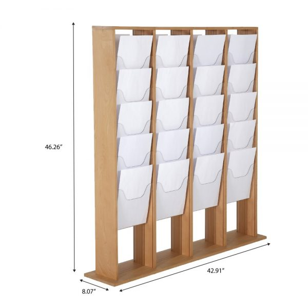 40xa4-wood-magazine-rack-natural-standing (4)