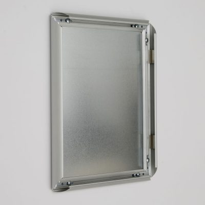 8-5x11-fire-resistant-snap-poster-frame-1-inch-silver-mitered-corner4
