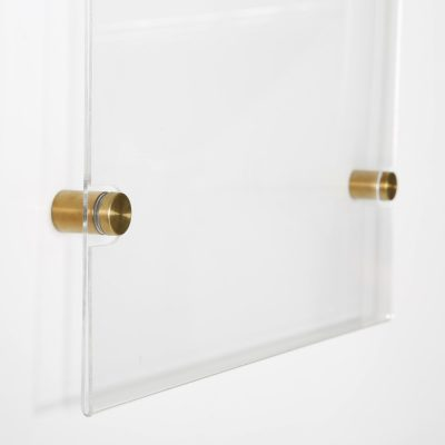 11x17-wall-mount-clear-acrylic-sign-holder-frame-brushed-gold-5-pcs-in-a-box (5)