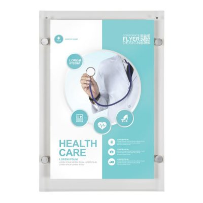11x17-wall-mount-clear-acrylic-sign-holder-frame-chrome-silver-5-pcs-in-a-box (1)
