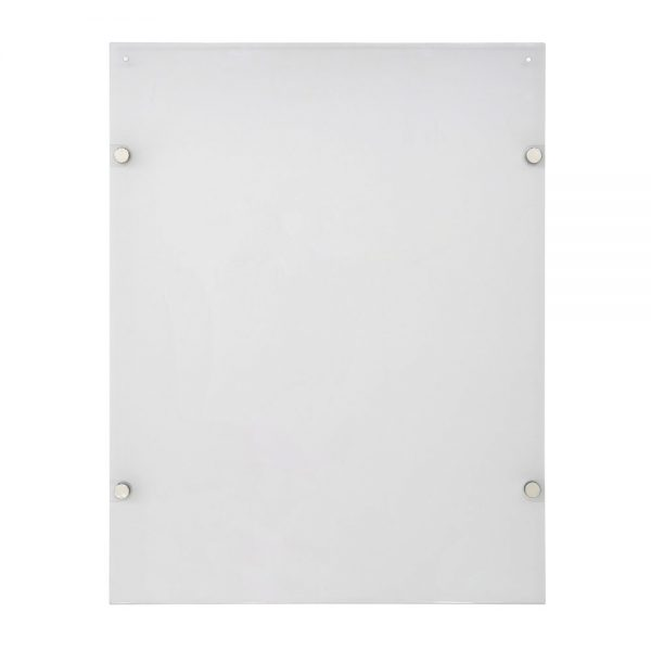 18x24-wall-mount-clear-acrylic-sign-holder-frame-chrome-silver (5)