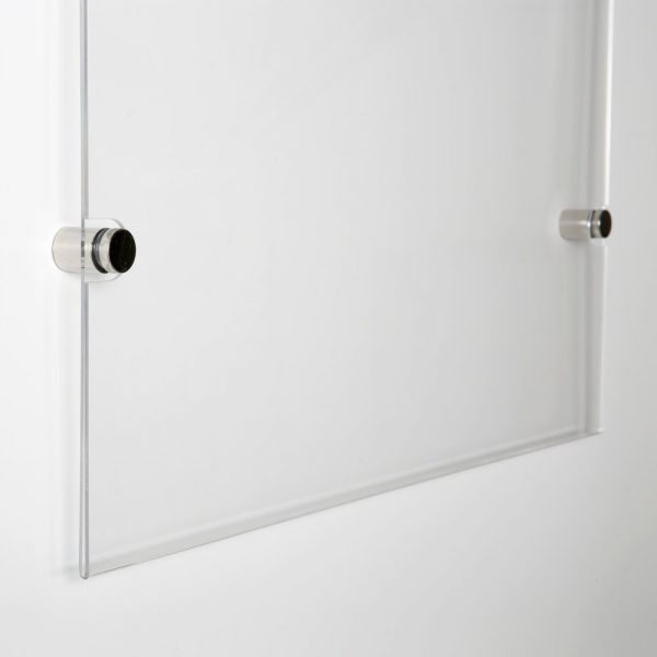 18x24-wall-mount-clear-acrylic-sign-holder-frame-chrome-silver (8)