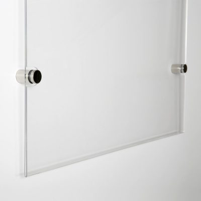 22x28-wall-mount-clear-acrylic-sign-holder-frame-chrome-silver (6)