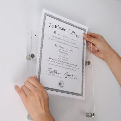 24x36-wall-mount-clear-acrylic-sign-holder-frame-brushed-silver (2)