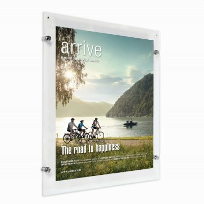 24x36-wall-mount-clear-acrylic-sign-holder-frame-brushed-silver (5)