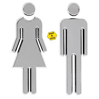 chrome-coated-3-62-high-toilet-sign-male-female