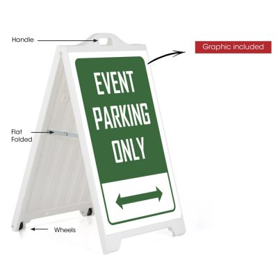 sp115-white-signpro-board-event-parking-only (2)