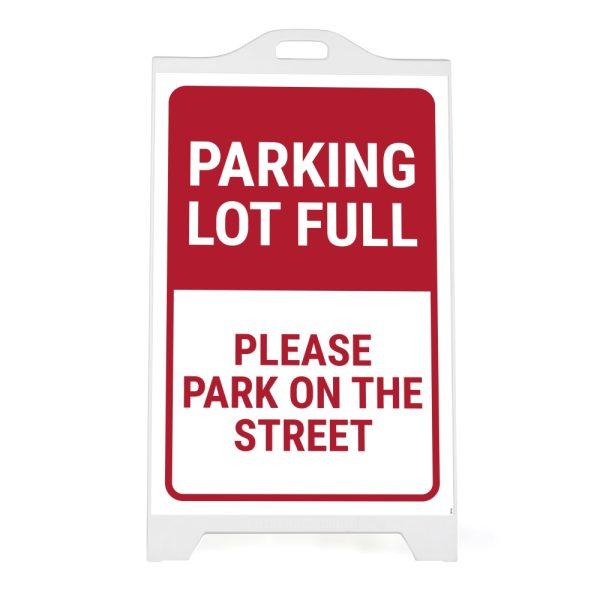 sp118-white-signpro-board-parking-lot-full (1)