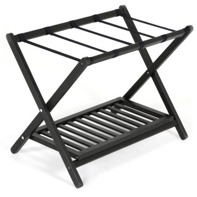 Wood Folding Luggage Rack