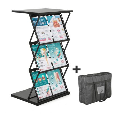Foldable Counter Perforated Shelf