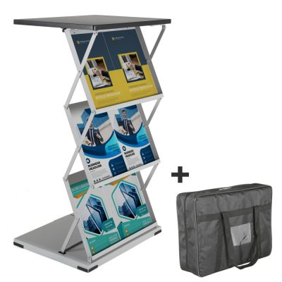 Foldable Counter Steel Shelf