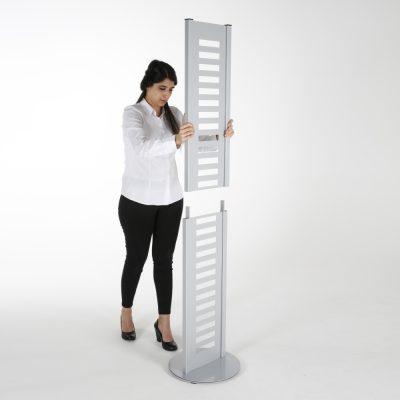 heavy-duty-literature-rack-8-pcs-acrylic-shelf-and-rotating-base-gray-85-11-a4 (3)