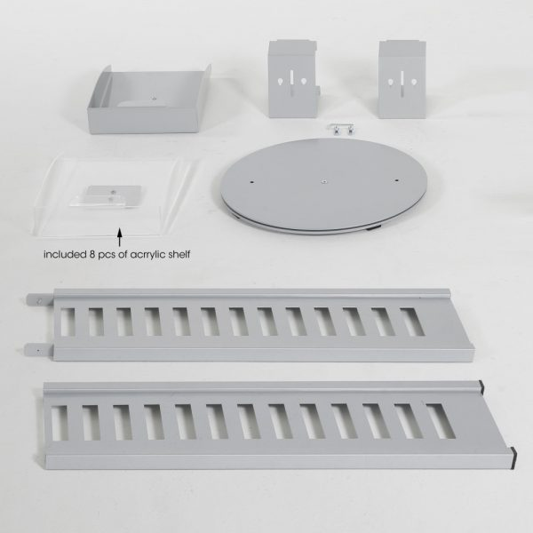 heavy-duty-literature-rack-8-pcs-acrylic-shelf-and-rotating-base-gray-85-11-a4 (4)