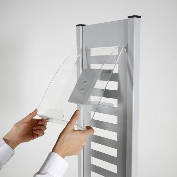 heavy-duty-literature-rack-8-pcs-acrylic-shelf-and-rotating-base-gray-85-11-a4 (5)