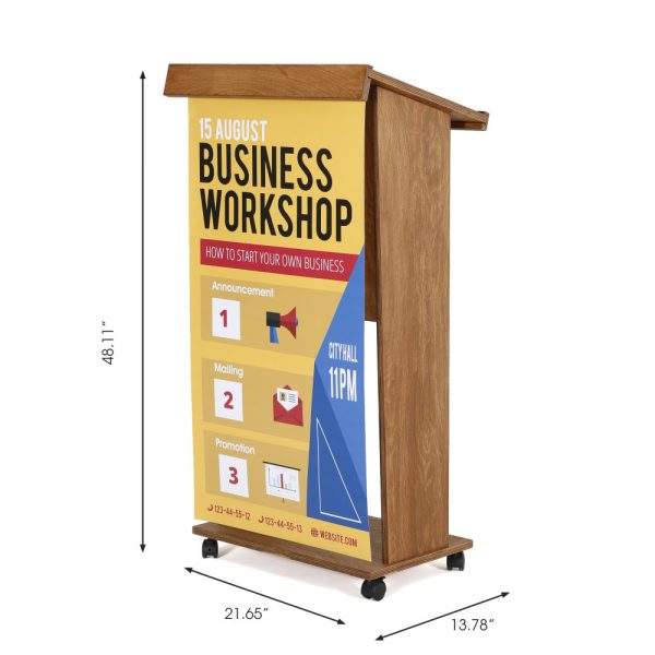 plywood-stand-up-podium-and-lockingcaster-wheels-45-dark-wood (3)