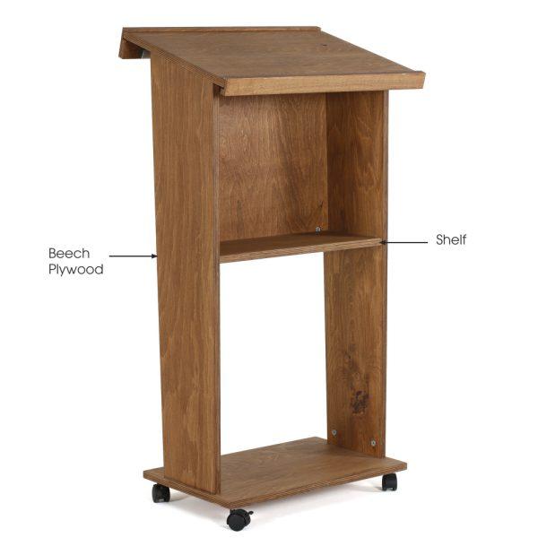 plywood-stand-up-podium-and-lockingcaster-wheels-45-dark-wood (5)