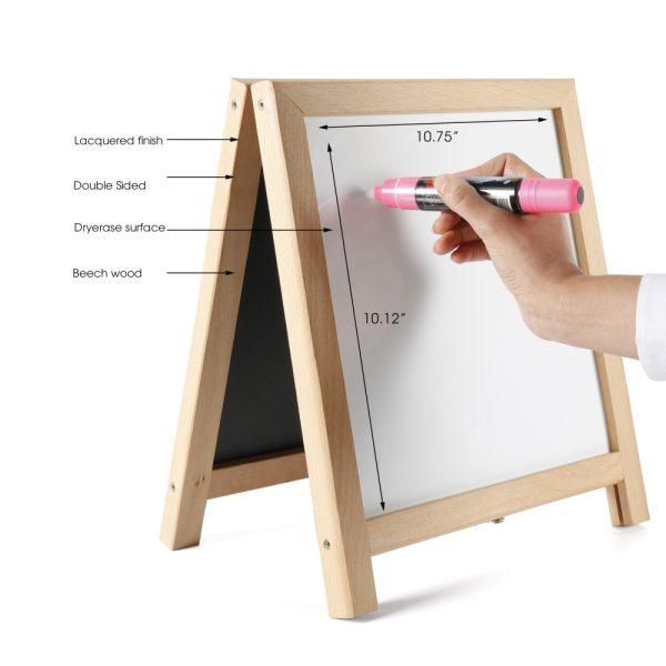 tabletop-mini-board-erasable-magnetic-chalkboard-natural-wood-white-12-24 (2)
