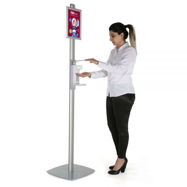 free-standing-sign-post-with-sanitizer-dispenser-500-ml-16-9-oz-without-gel-soap-dispanser (1)
