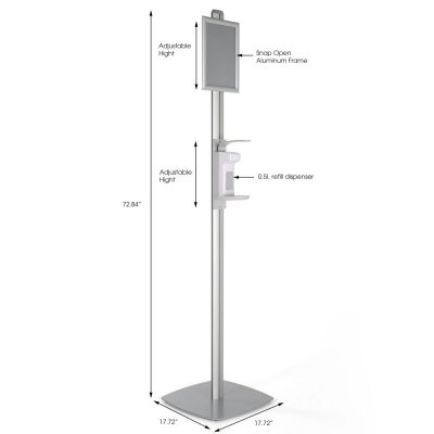 free-standing-sign-post-with-sanitizer-dispenser-500-ml-16-9-oz-without-gel-soap-dispanser (2)