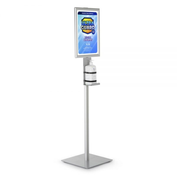 floor-stand-for-handcare-bottled-sanitizing-products-with-11x17-inch-opti-snap-frame (1)