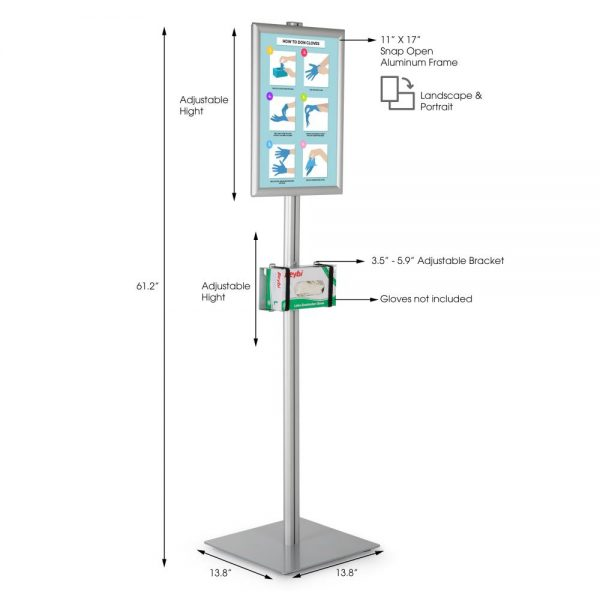 floor-stand-for-healthcare-dispenser-with-11x17-inch-front-loading-opti-snap-frame-poster (1)