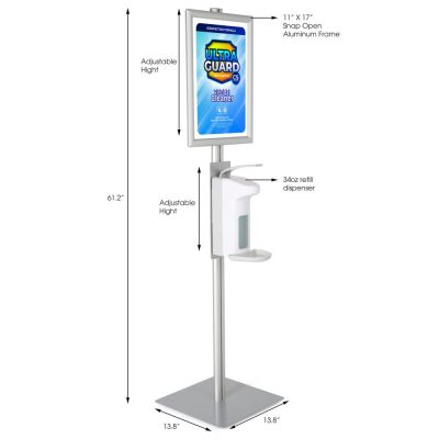 hand-sanitizer-floor-stand-1000-ml-33-8-oz-without-gel-with-11x17-inch-opti-snap-frame (2)
