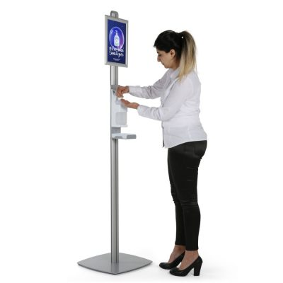 free-standing-sanitizer-dispenser-1000-ml-33-8-oz-without-gel-with-8-5x11-inch-opti-snap-framedrip-tray (1)
