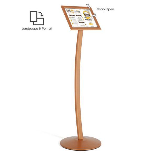 pedestal-sign-holder-restaurant-menu-board-floor-standing-8-5x11-copper (2)