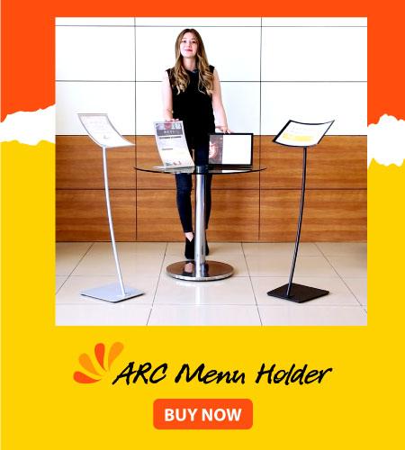 ARC Menu Holder - Buy Now!